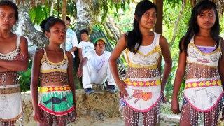 Communauté indigène d'Amazonie en Colombie
