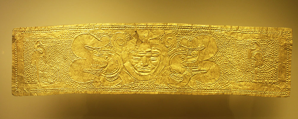 Gold Museum in Bogota, Colombia