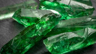 The emerald, one of Colombia's treasures