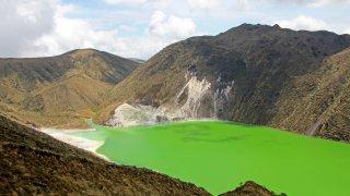 Laguna Verde in Nariño