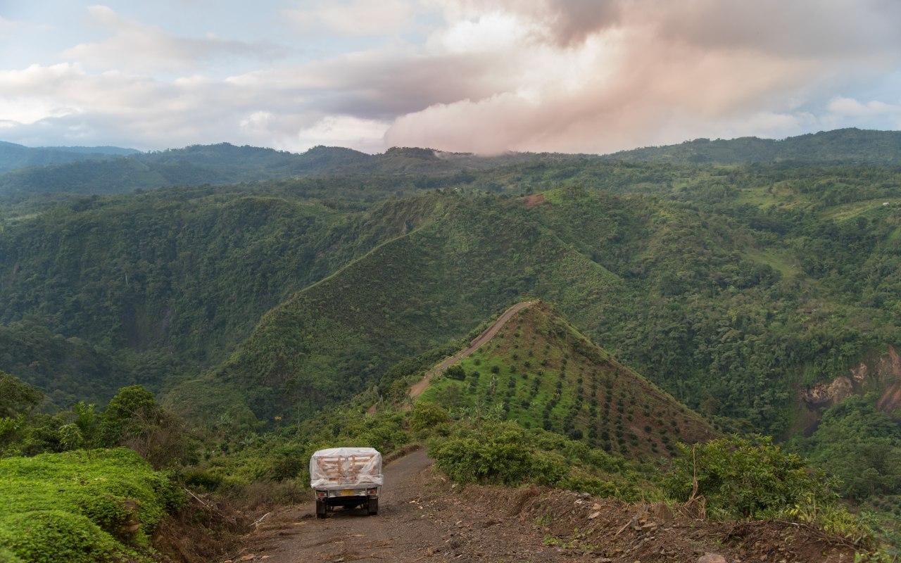 Les paysages de Colombie