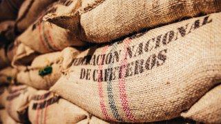 Sac de café de Colombie