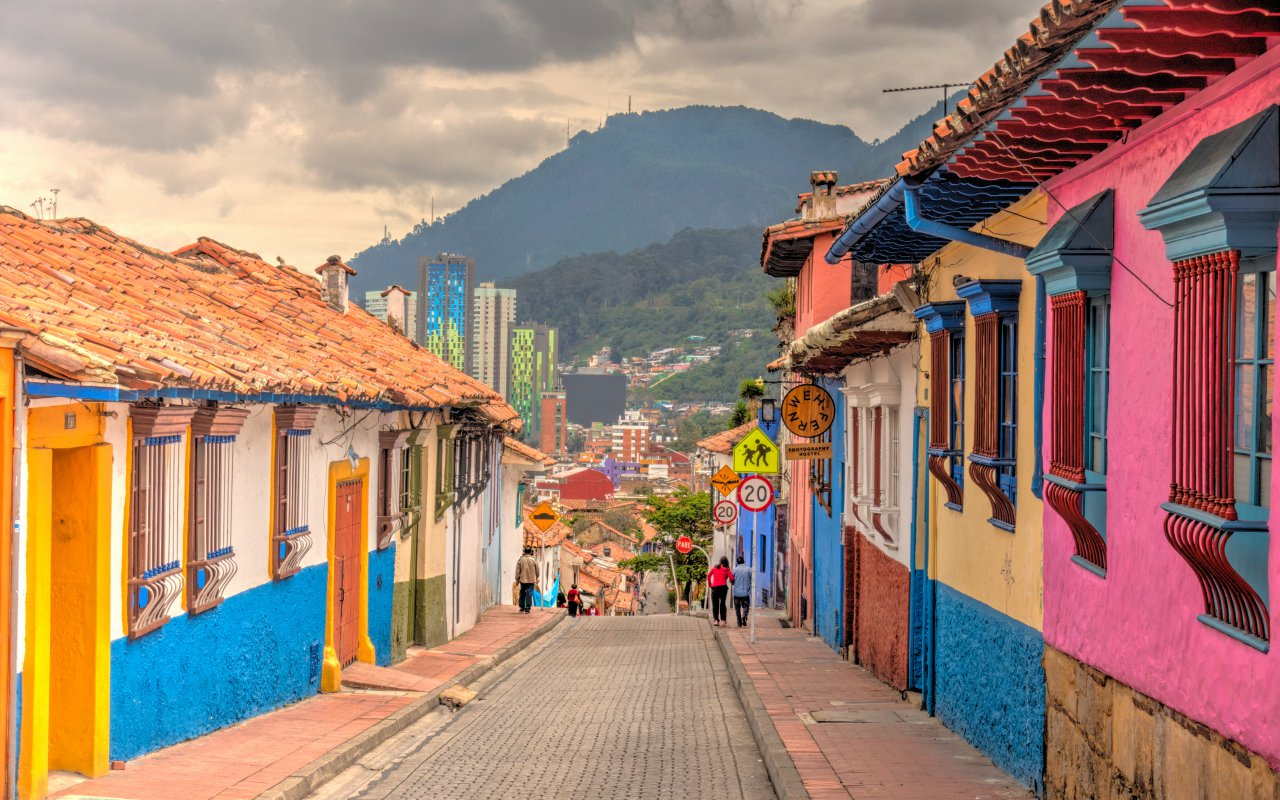 Bogota, La Candelaria historical district