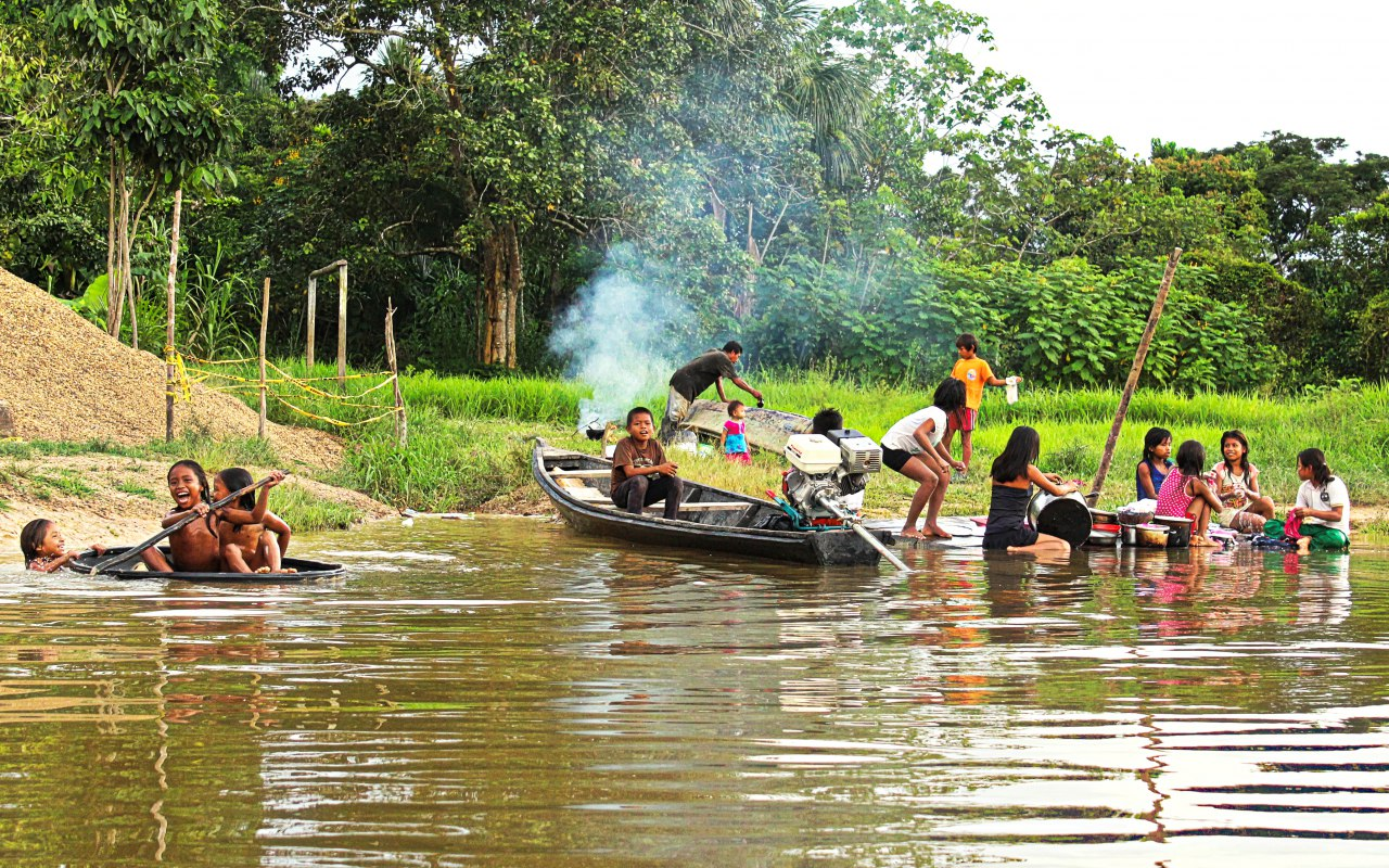 Indigenous People in the Colombian Amazon