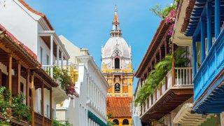 the city of Cartagena de Indias
