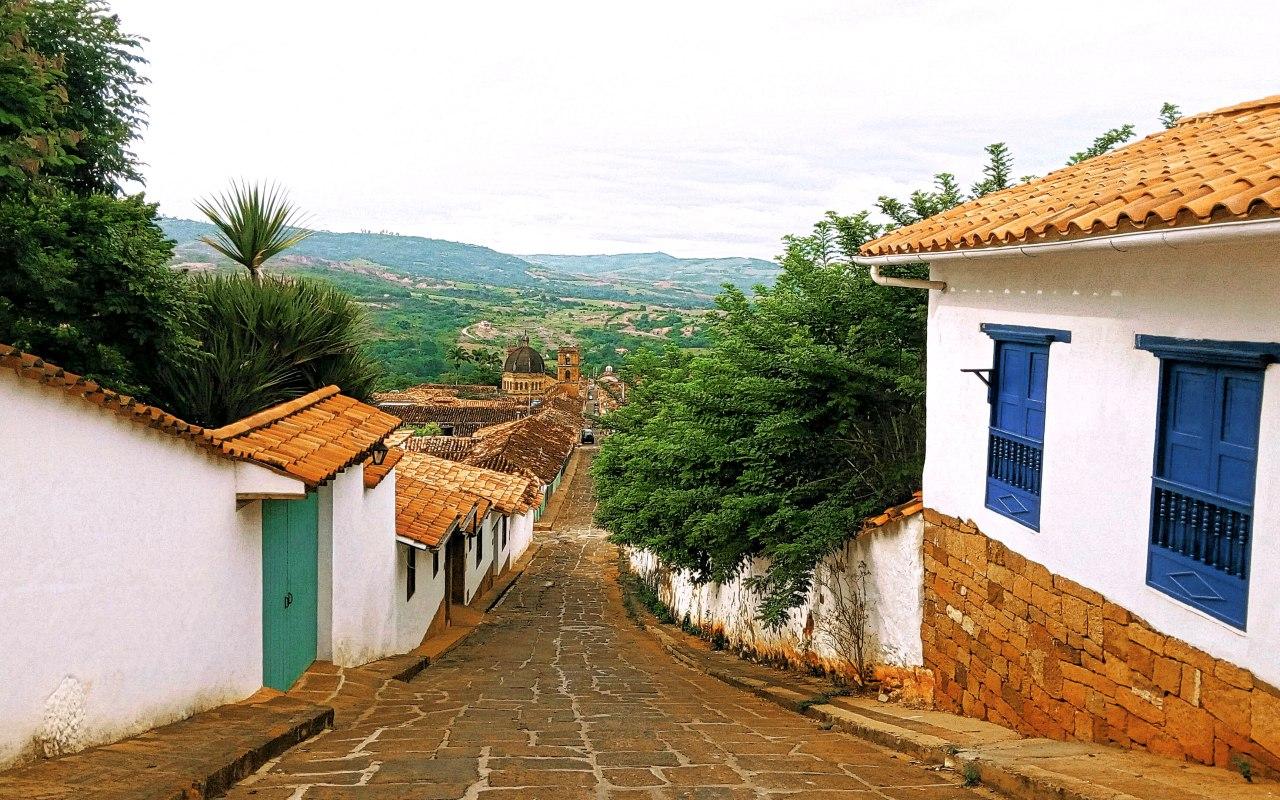 Barichara un village en Colombie