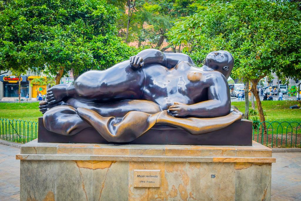 Les oeuvres de Botero à Medellín