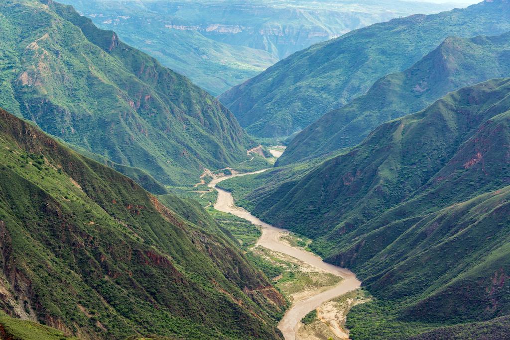 The canyon of Chichamocha