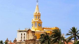 L'architecture de Carthagène en Colombie