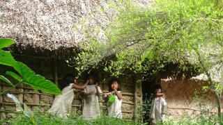 Kogi village of the Sierra Nevada de Santa Marta in Colombia