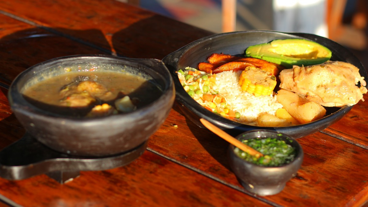 Recettes des plats colombiens
