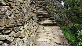 The steps through the Lost City
