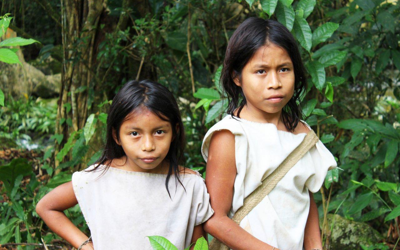The Kogi children of Sierra Nevada de Santa Marta