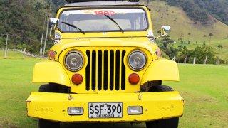 une Jeep Willys en Colombie