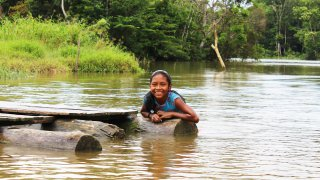 The indigenous communities in the Amazon
