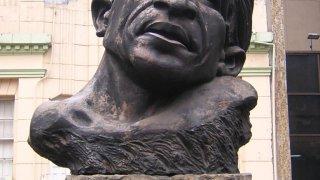 Buste de Jorge Eliecer Gaitan à Medellin