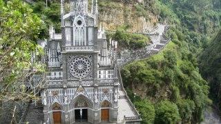 The Sanctuary of Las Lejas in Ipiales, Colombia