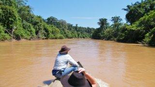 balade en bateau dans les Llanos en Colombie