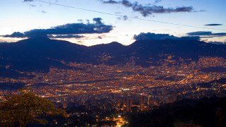 the city of Medellin