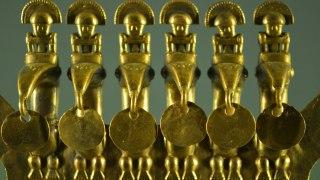 Musée de l'or à Bogota en Colombie