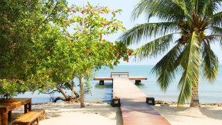 Les plages de Baru dans l'Archipel du Rosaire
