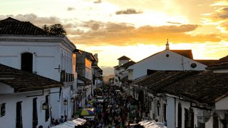 the white city of Popayan