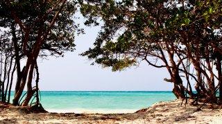 Les plages de la presqu'ile de Baru dans les Caraïbes colombiennes