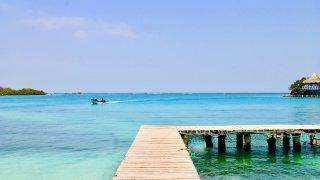 L'Isla Grande au coeur de l'archipel du Rosaire en Colombie