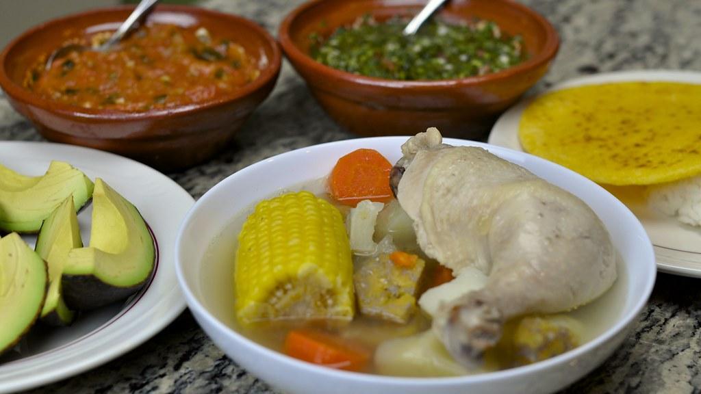 Recette colombienne du sancocho